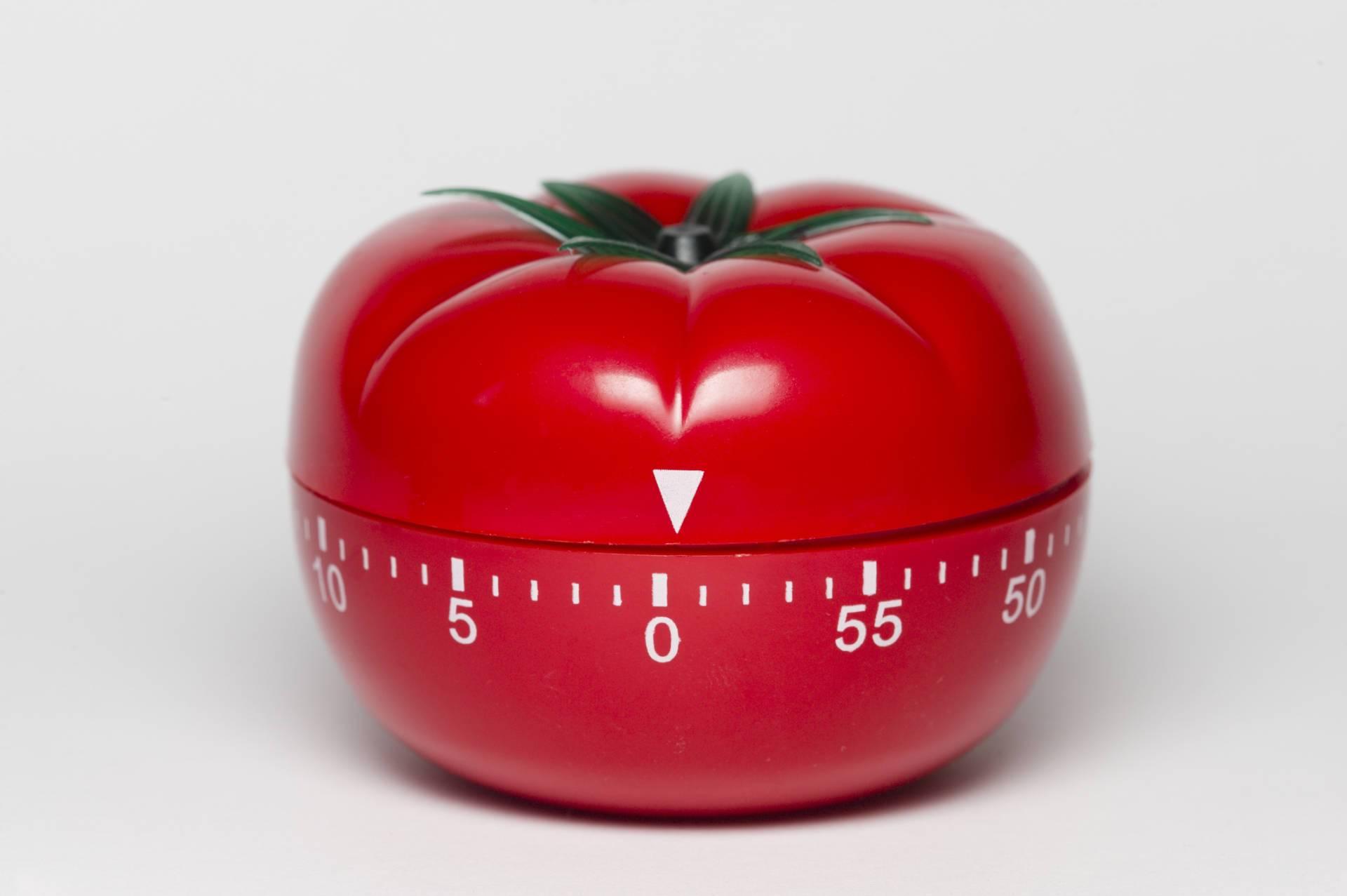 техника управления времени - тайминговый помидор