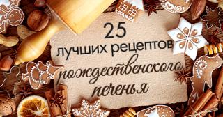 25 лучших рецептов рождественского печенья