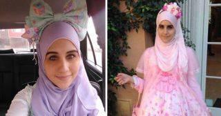 Лолиты в хиджабах: японская субкультура покорила Ближний Восток